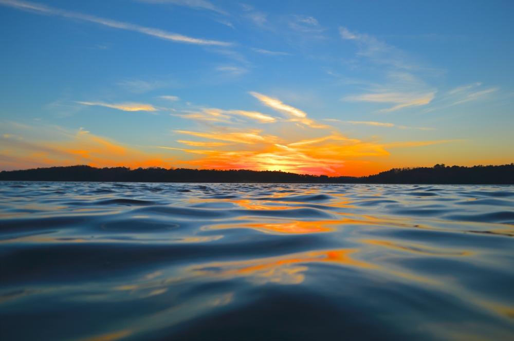 Lake Lanier, Georgia.